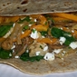 Tantalizing Mediterranean Chicken Wrap