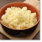 Roasted Garlic White Cheddar Mashed Potatoes
