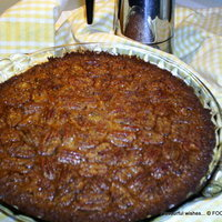 PECAN pie GRAHAM crust...with sweet modifications