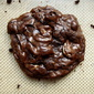 deep chocolate cherry cashew cookies
