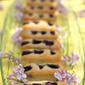Blueberry Macadamia Financiers