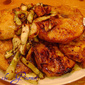 Curry-Ginger Pork Chops with Balsamic Fennel