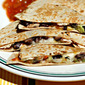 Salsa (Recipe: chicken, black bean, avocado and cheese quesadillas)