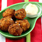 Kosher salt (Recipe: salt cod balls with chipotle mayonnaise dip)