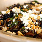 Black Quinoa With Grilled Vegetables, Basil and Feta