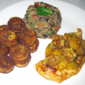 Recipe #111: Mango Chicken with Grilled Plantains & Spicy Black Bean Salsa