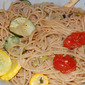 Spaghetti with Summer Squash and Tomatoes