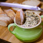 Hot Chevre, Spinach and Artichoke Dip Recipe