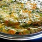 Crustless Quiche with Shallots and Scallions
