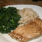 Roasted Halibut or Sea Bass with Balsamic Garlic glaze