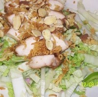 Image of Nappa Chicken Salad Recipe, Cook Eat Share