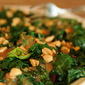 S.O.S. Challenge: Wilted Spinach Salad with Thai Peanut Vinaigrette