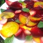 Roasted Beet Carpaccio w/ Mint