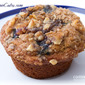 Blueberry, Banana-Walnut Crumb Muffins