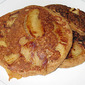 Quick Apple Topped Pancake