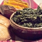 Turnip Greens and Corn Pone