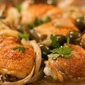 Crispy Braised Chicken Thighs Recipe with Fennel, Olives and Lemon