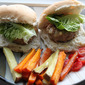 Turkey, Lemon and Thyme Burgers