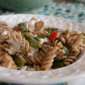RECIPE: Asparagus Whole Wheat Pasta Salad with Left Over Chicken