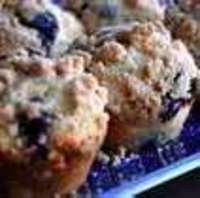 Image of Gluten Free Blueberry Streusal Muffins Recipe, Cook Eat Share