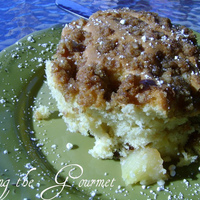 Image of Easy Apple Crumb Cake Recipe, Cook Eat Share