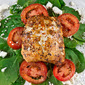 Wild Alaskan Salmon with Spinach, Tomatoes & Feta