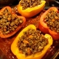 Thanksgiving Re-Mix: Stuffed Peppers Edition