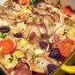 What's for Dinner? Roast Cod w/ Potatoes & Olives