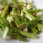 Free Ranging Raw Asparagus Salad