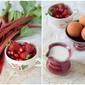 Rhubarb & Strawberry Ice Cream