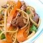 Leftover Pork = Sesame Noodles
