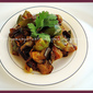 Eggplant & Bellpeppers Pepper Masala