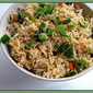 Mixed Veggies Pepper Rice