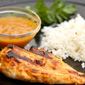 Chicken with Papaya BBQ Sauce