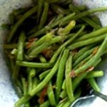 Blue Lake Green Beans with Crispy Prosciutto