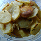 Living the Gourmet Oven Fried Potatoes