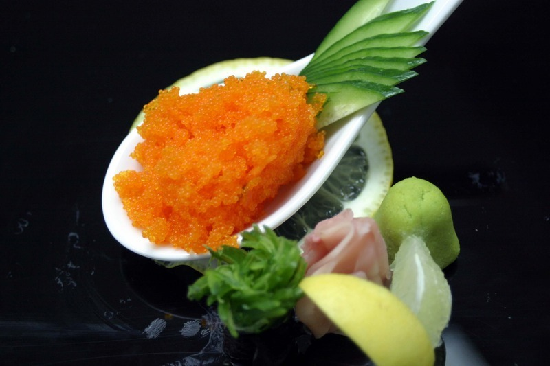Tobiko flying fish eggs recipe by ashraf cookeatshare for Flying fish egg