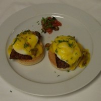Merguez Egg benedict