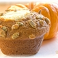 Teenie Cakes - Pumpkin Cream Cheese Muffins with Pepita Crunch