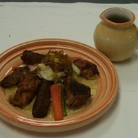 Tagine mixed grill