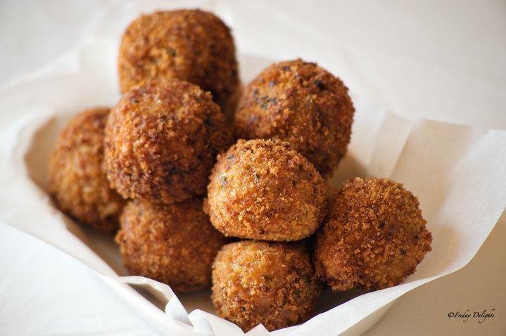 Spicy Shrimp Boudin Balls Recipe by Friday - CookEatShare