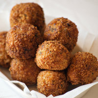 Spicy Shrimp Boudin Balls
