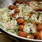 Your Mother Was Right + A Birthday - Capellini with Shrimp and Tomatoes