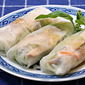 Rice paper wrappers (Recipe: grilled chicken and broccoli slaw wraps)