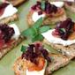 Crispy Pancetta, Bocconcini & Olive Mint Tapenade Crostini Recipe