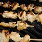 Apricot Chicken Skewers