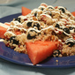 Celebrate the Fourth! Red, White and Blueberry Quinoa Salad with Grapefruit Vinaigrette