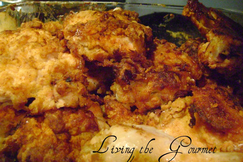 Buttermilk Oven Fried Chicken Recipe by Catherine ...