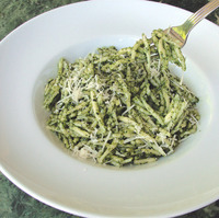 Trofiette Liguri and Genovese Pesto