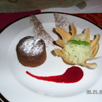 HOT CHOCOLATE MELT PINE APPLE GRANITA